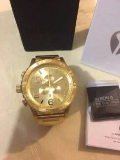 Nixon 51-30 Chrono All Gold A083-502 A083502 Stainless Steel Watc