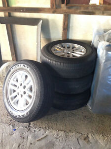Goodride SU318 H/T 265/65R17 Tyre Set + Rims Greenacre Bankstown Area Preview