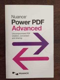 BRAND NEW – Nuance Power PDF Advanced 2.0 English – $50 each NEG