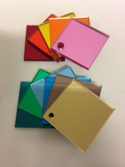 3mm Coloured MIRROR UV Acrylic Perspex Sheet 2440 x 1220 mm Sale