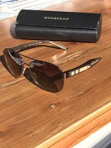 Burberry BE3084 57 Brown & Brown Polarised Sunglasses. 100% genuine!! South Yarra Stonnington Area Preview