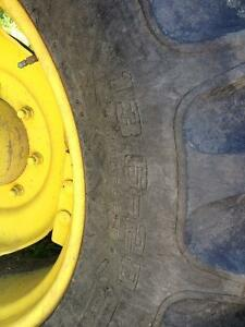 13.6 - 28 and 18.4 - 38 tractor tires Strathcona County Edmonton Area image 7