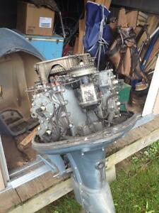 1965 Evinrude 60 HP Sport Four Motor London Ontario image 6