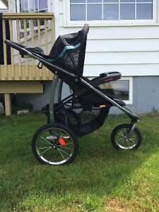 Graco click connect jogging stroller