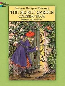 Image Is Loading The Secret Garden Coloring Book By Frances Hodgson