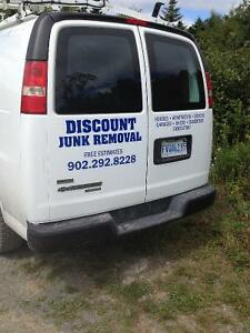 Discount Garbage Removal Free Estimate!