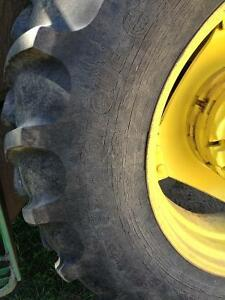 13.6 - 28 and 18.4 - 38 tractor tires Strathcona County Edmonton Area image 8