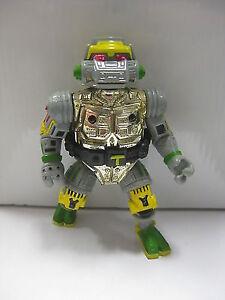 1989 Teenage Mutant Ninja Turtles Metalhead Action Figure Playmates Unpunch TMNT