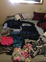 Lots of clothes for sale!