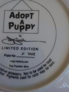 Collector's Dish - Puppies by ASPCA Prince George British Columbia image 5