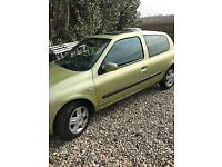 2004 (54) Renault Clio 1.2 Manual Petrol (Low Insurance & Petrol Costs, New Clutch & MOT)