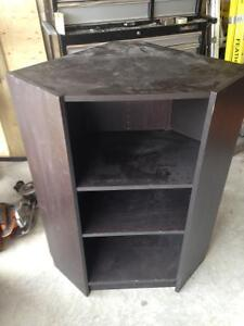 FREE black tv unit. Pick up SW airdrie.