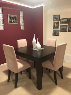 Wooden 4 Seater Dining Table And Chairs 200000 Joondalup