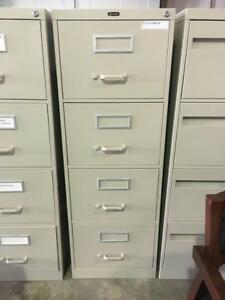 4 Drawer Vertical Filing Cabinets - $125
