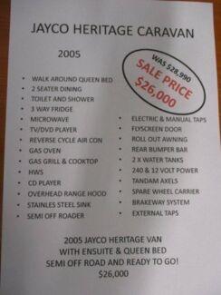 2005 Jayco HERRITAGE Caravan
