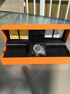 Stuhrling Diamond Studded Watch
