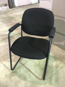 Fabric Guest Chairs - $49