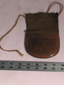 Vintage pipe tobacco pouch