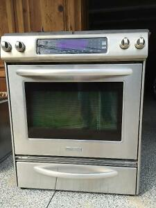 Kitchenaid high end gas top range and duel fan electric oven