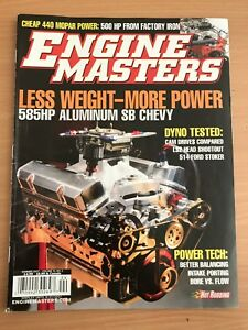 Engine Masters Summer 2007 issue Isaacs Woden Valley Preview