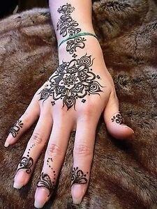 Simple beautiful and elegant henna designs Windsor Region Ontario image 1