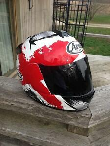 Arai Vector 2 - Used for one summer - Smoke Shield - Size M