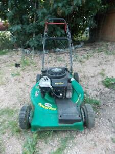 Self-propelled mower/mulcher