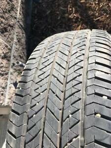 One P205/55R16 Bridgestone Turanza EL400 Tire Almost NEW 95%