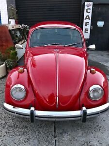 1973 VW Volkswagen Beetle Sedan Coupe not kombi karmann ghia bug Moorabbin Kingston Area Preview