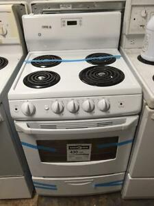 24 inch White Stove New Excellent Condition with Warranty