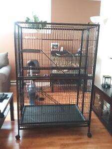 Cage Marshall pour furet 3 etage