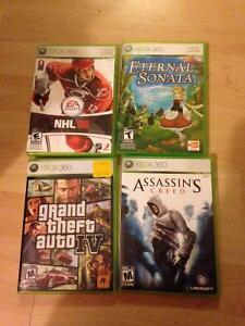 Grand teft auto IV, Assasin's creed, NHL 08 et Eternal sonata