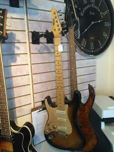 Left Handed Guitar and Bass