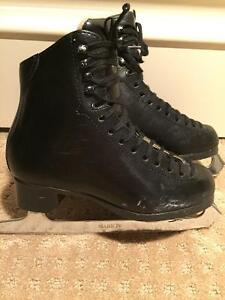 Jackson Size 2.5 Boys Black Figure Skates - Mark IV Ultima Blade
