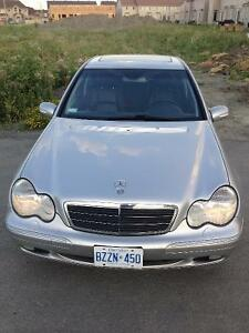 2002 Mercedes-Benz C240 with E-test and safety