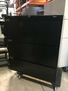 Global 3 Drawer Lateral Files - $250