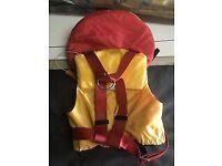 Child's Crewsaver Supersafe 100N Lifejacket (EN395).
