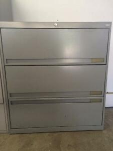 Lateral File Cabinet, 3-Drawer - CBF Business Furniture