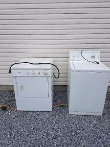 Kenmore washer for sale and dryer for free