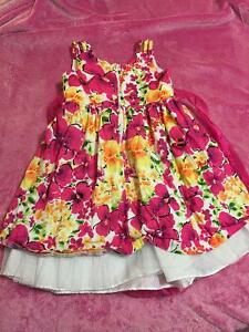 Floral Dress with Bow Kitchener / Waterloo Kitchener Area image 2