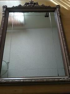 Antique Wall Mirror - ornate frame