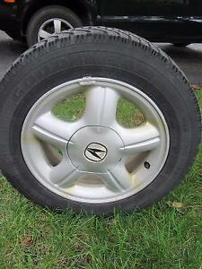 4 Good year winter tires with rims - Honda civic