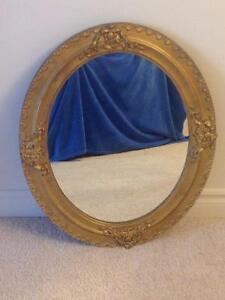 Antique Gold Wood Frame Mirror Kitchener / Waterloo Kitchener Area image 2