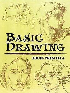 Basic Drawing by Louis Priscilla (Paperback) NEW ART BOOK