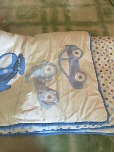 Crib bumper pads and comforter brand new
