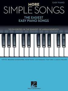 More Simple Songs : The Easiest Easy Piano Songs (2016, Paperback)