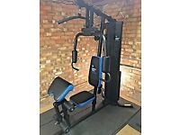 Men's health multi gym with extras