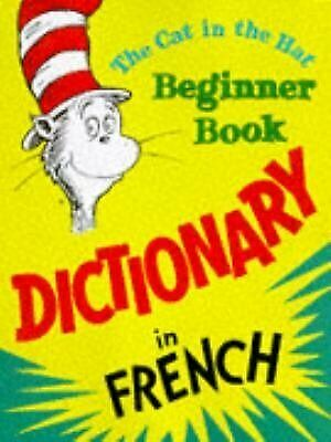 The Cat in the Hat Beginner Book  Dictionary in French French Dictionary Book