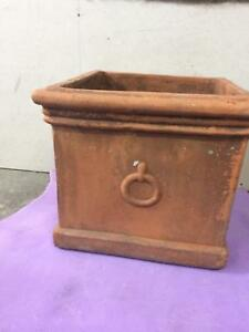 LARGE SQUARE TERRACOTTA POT North Sydney North Sydney Area Preview