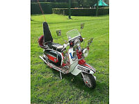1966 - Lambretta Li 125 ' JIMMY ' Replica Scooter - from the film Quadrophenia